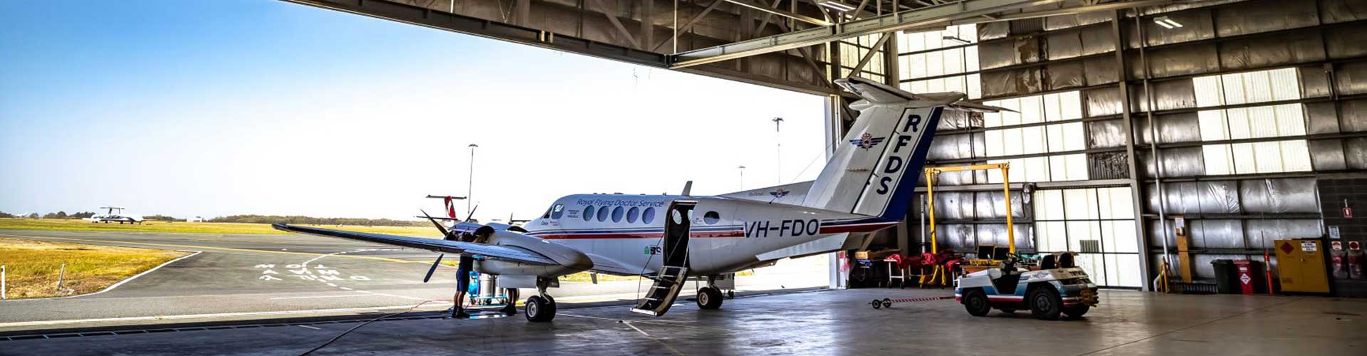 Destratification Fan System RFDS Hangar
