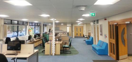 Destratification Fan System Offices Featured