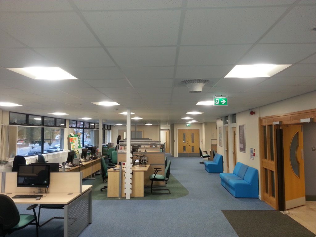Destratification Fan System Offices Gallery 1
