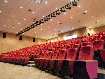 The Airius PureAir Series Purifying Air in A Cinema